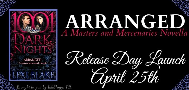 Arranged by Lexi Blake Release Day Launch