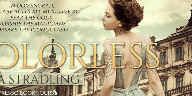 Colorless by Rita Stradling Cover Reveal