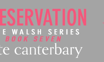 Preservation by Kate Canterbary Cover Reveal