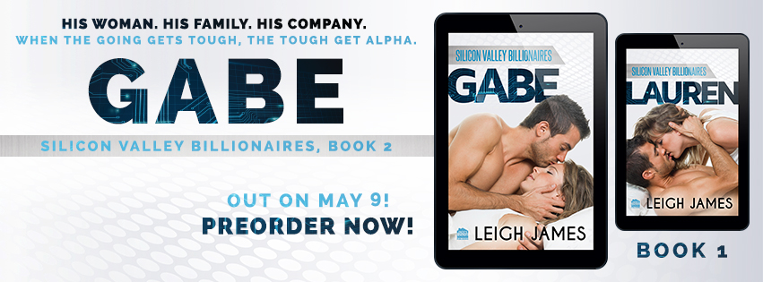 Gabe by Leigh James Teaser Reveal