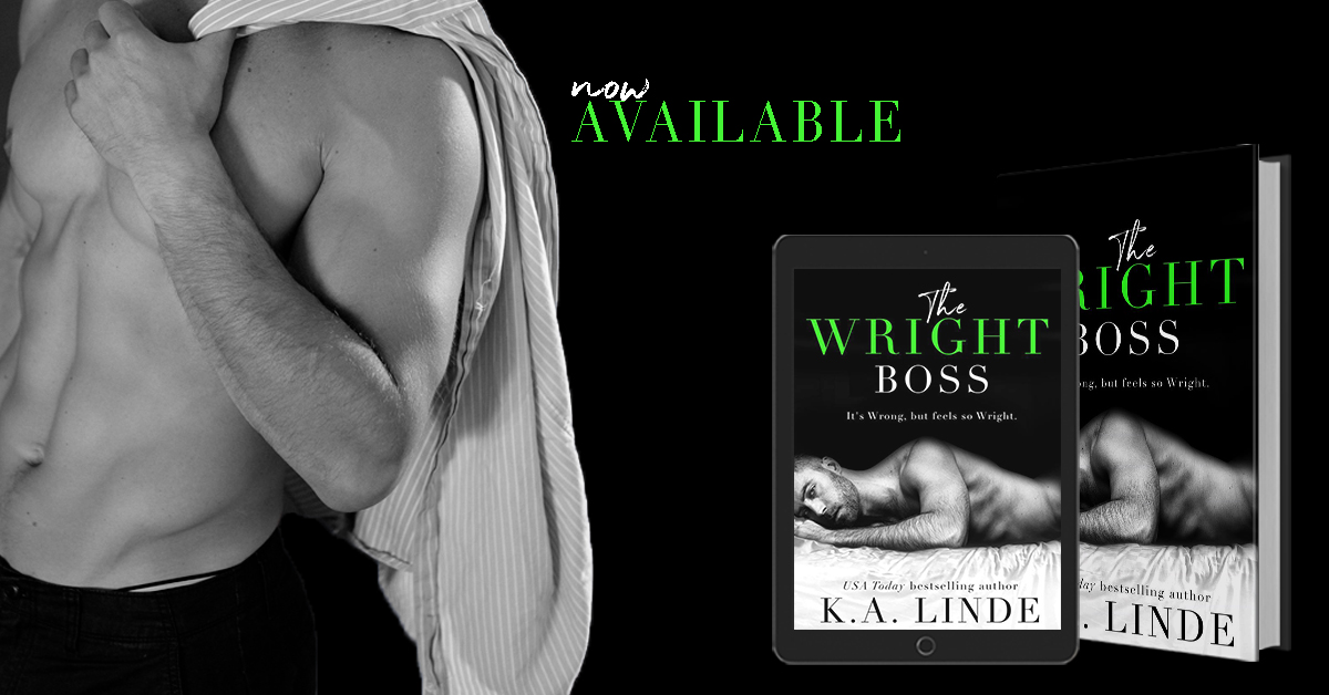 The Wright Boss by K.A. Linde Release Blitz