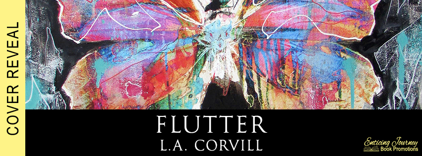 Flutter by L.A. Corvill Cover Reveal