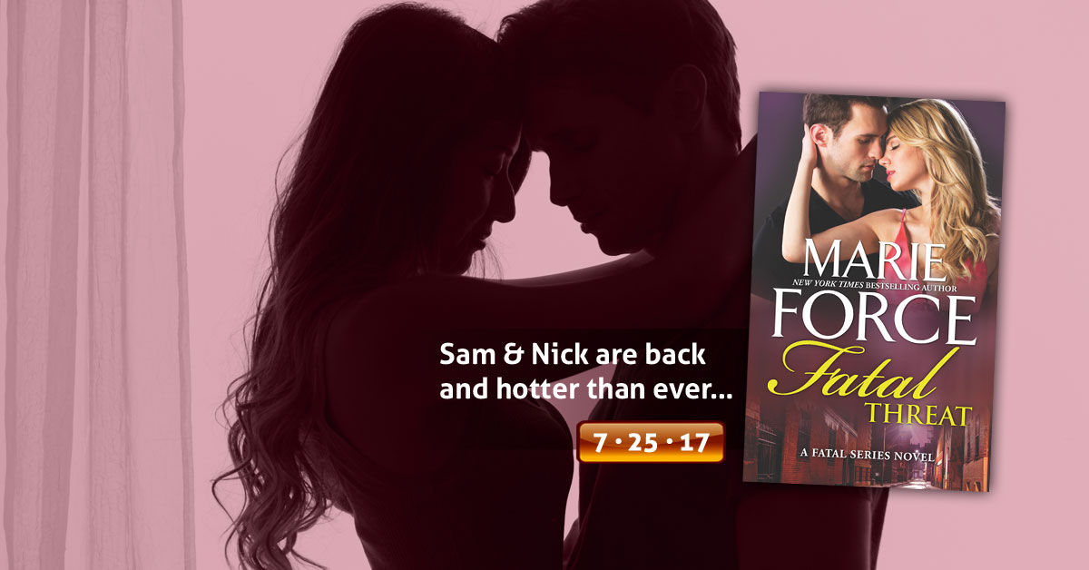 Fatal Threat by Marie Force Teaser Reveal