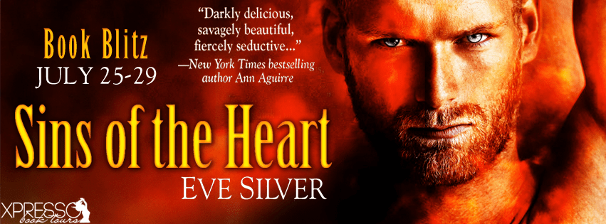 Sins of the Heart by Eve Silver Release Blitz