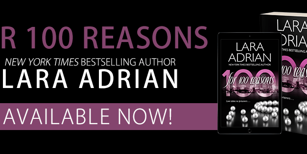 For 100 Reasons by Lara Adrian Release Blitz