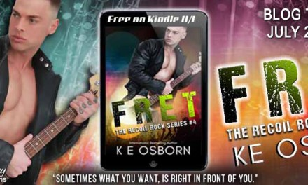 Fret by K.E. Osborn Blog Tour