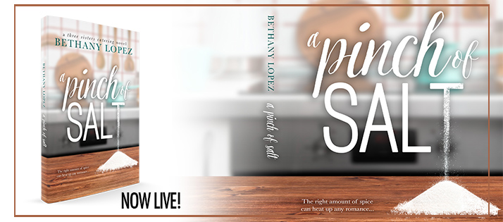 A Pinch of Salt by Bethany Lopez Blog Tour