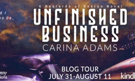 Unfinished Business by Carina Adams Blog Tour