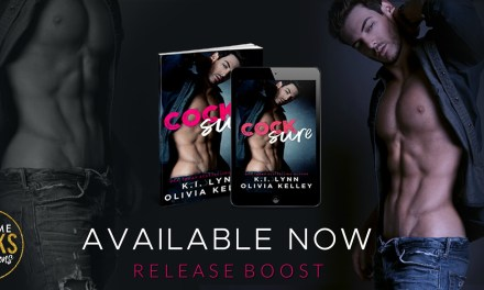 Cocksure by K.I. Lynn & Olivia Kelley Release Boost