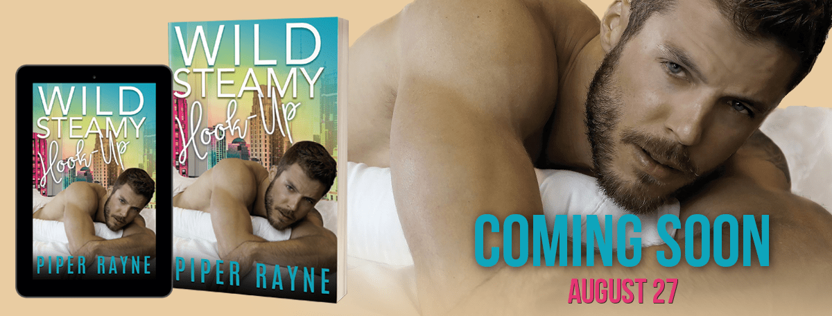 Wild Steamy Hook-Up by Piper Rayne Cover Reveal