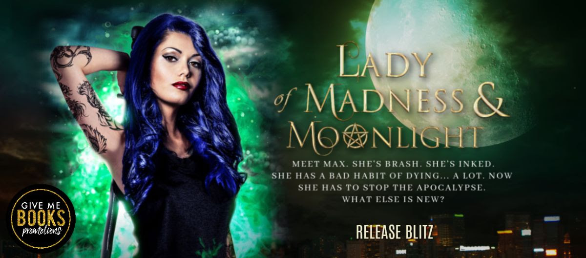 Lady of Madness & Moonlight by Annie Anderson Release Blitz