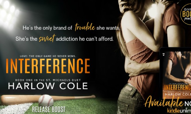 Interference by Harlow Cole Release Blitz