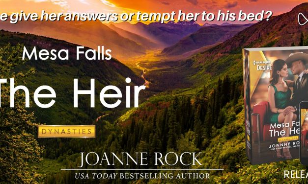 The Heir by Joanne Rock Release Blitz