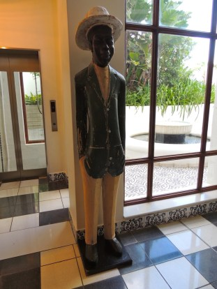 One of the hotel's oldest members of staff. He was in the foyer of the original hotel in the 1950's.