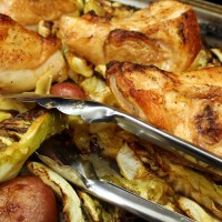 Pan-Roasted Chicken, Cabbage, and Potatoes (and a New Cookbook!)