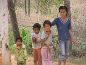Children, Lobeysa, Bhutan