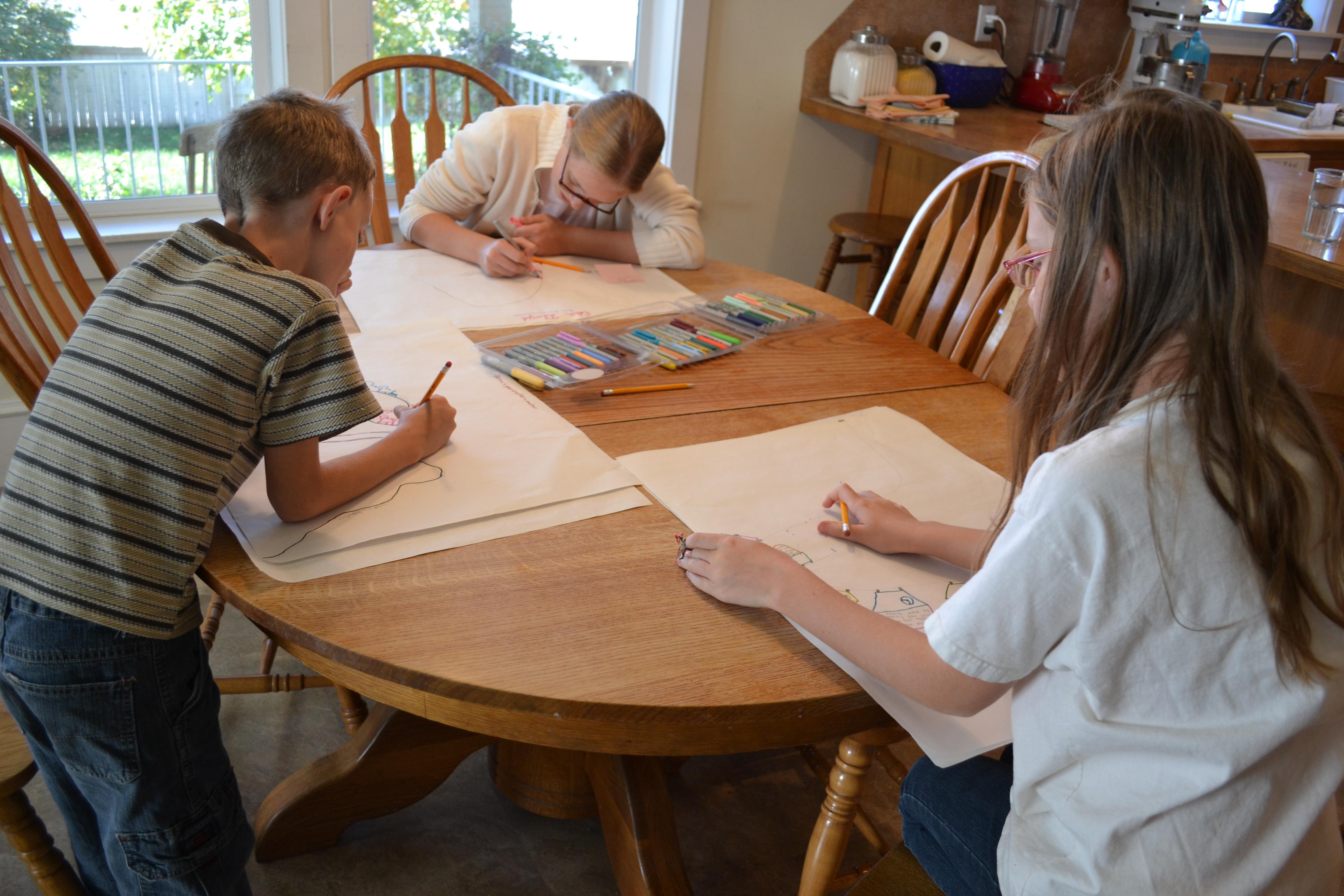 Plot Roller Coasters Kids Prepare To Write Fiction