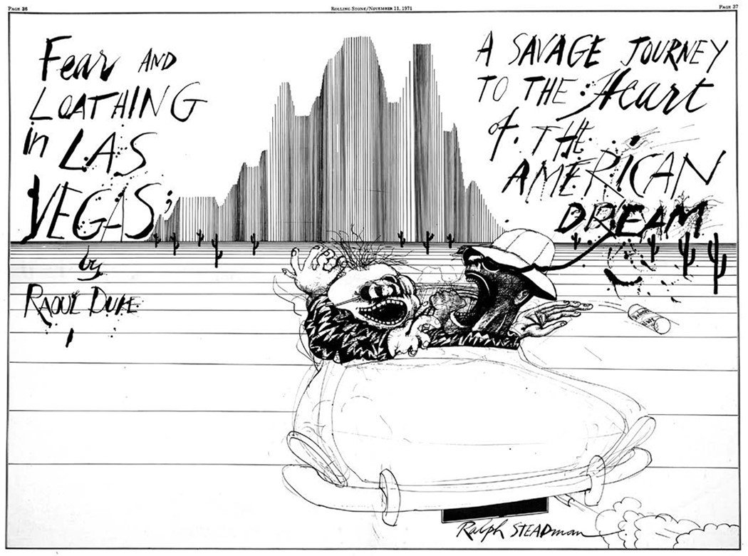 Ralph Steadman On The Of Hunter S Thompson