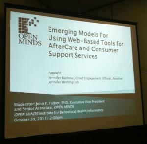social media in behavioral healthcare presentation