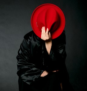 anonymous woman