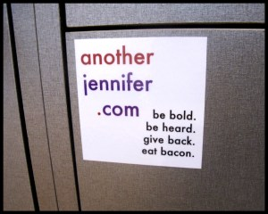 another jennifer vinyl stickers