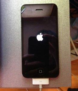 iPhone turning on