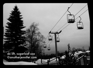 Wordless Wednesday: Ski Lift, Sugarloaf USA