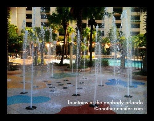peabody orlando fountains