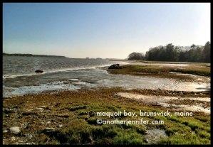 Wordless Wednesday: Maquoit Bay, Brunswick, Maine