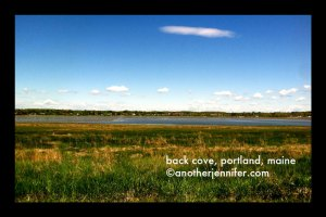 Wordless Wednesday: Back Cove, Portland, Maine