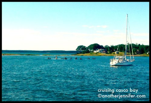 cruising casco bay