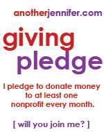 another jennifer giving pledge