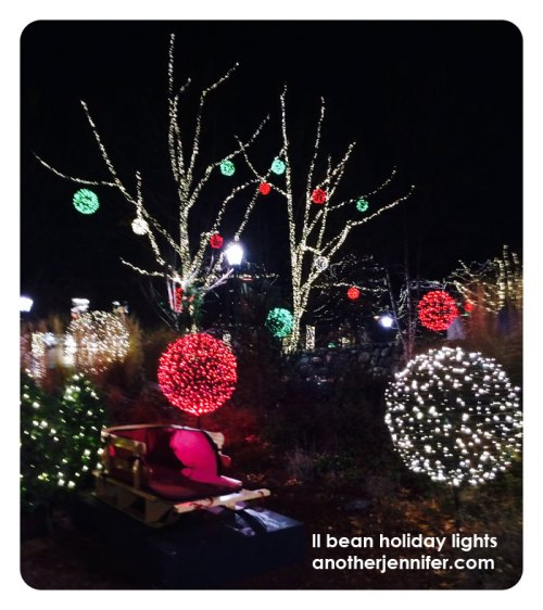 ll bean holiday lights