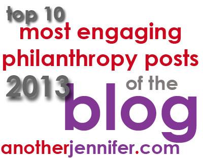top philanthropy posts