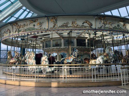 The famous carousel at Destiny USA (formerly Carousel Mall).