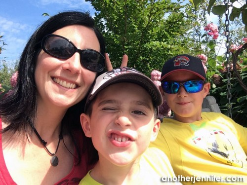 Wordless Wednesday (8.20.14): Garden Selfie by Jennifer Iacovelli