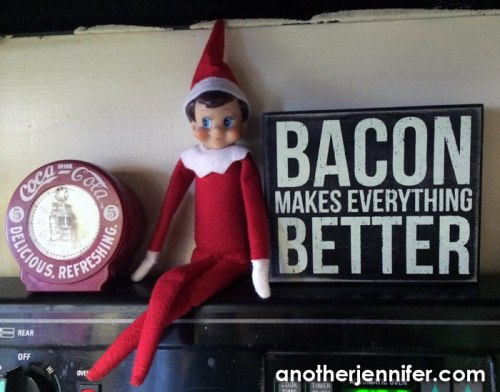 Wordless Wednesday (12.5.14): The Elf is Back