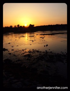Wordless Wednesday: Sunset in Kennebunkport, Maine