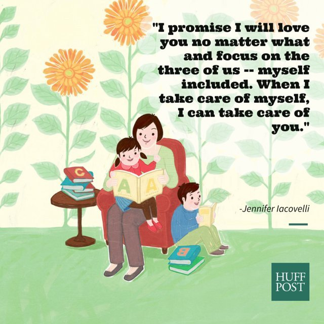 promise to my children after divorce