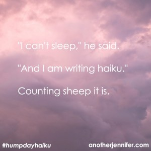 Hump Day Haiku: Counting Sheep