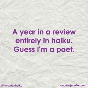 2016 year in review haiku