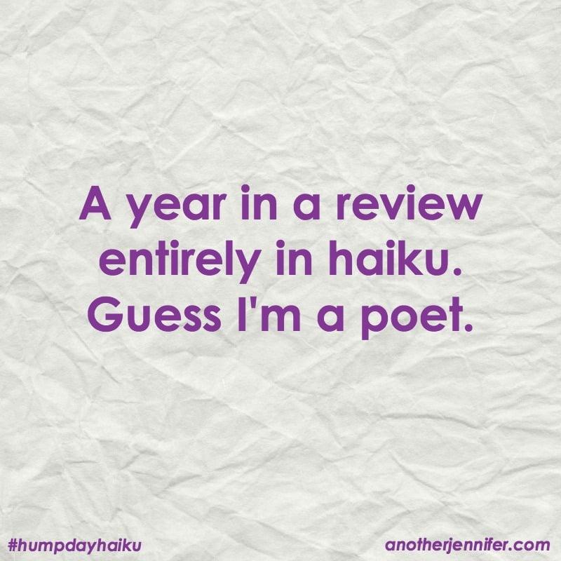 2016 year in review haiku