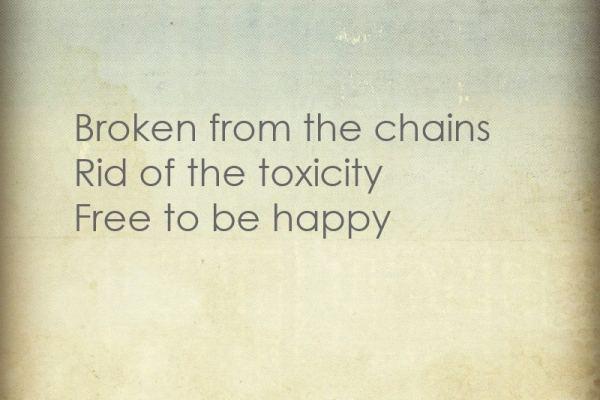 free to be happy haiku