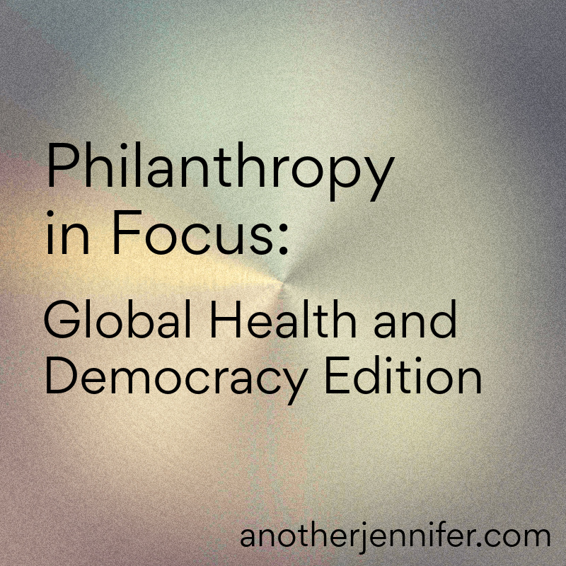 PIF: Global Health and Democracy Edition