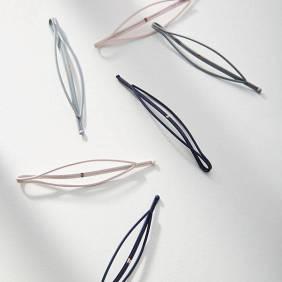 Anthropologie Lena Oval Hair Clip Set ($18)