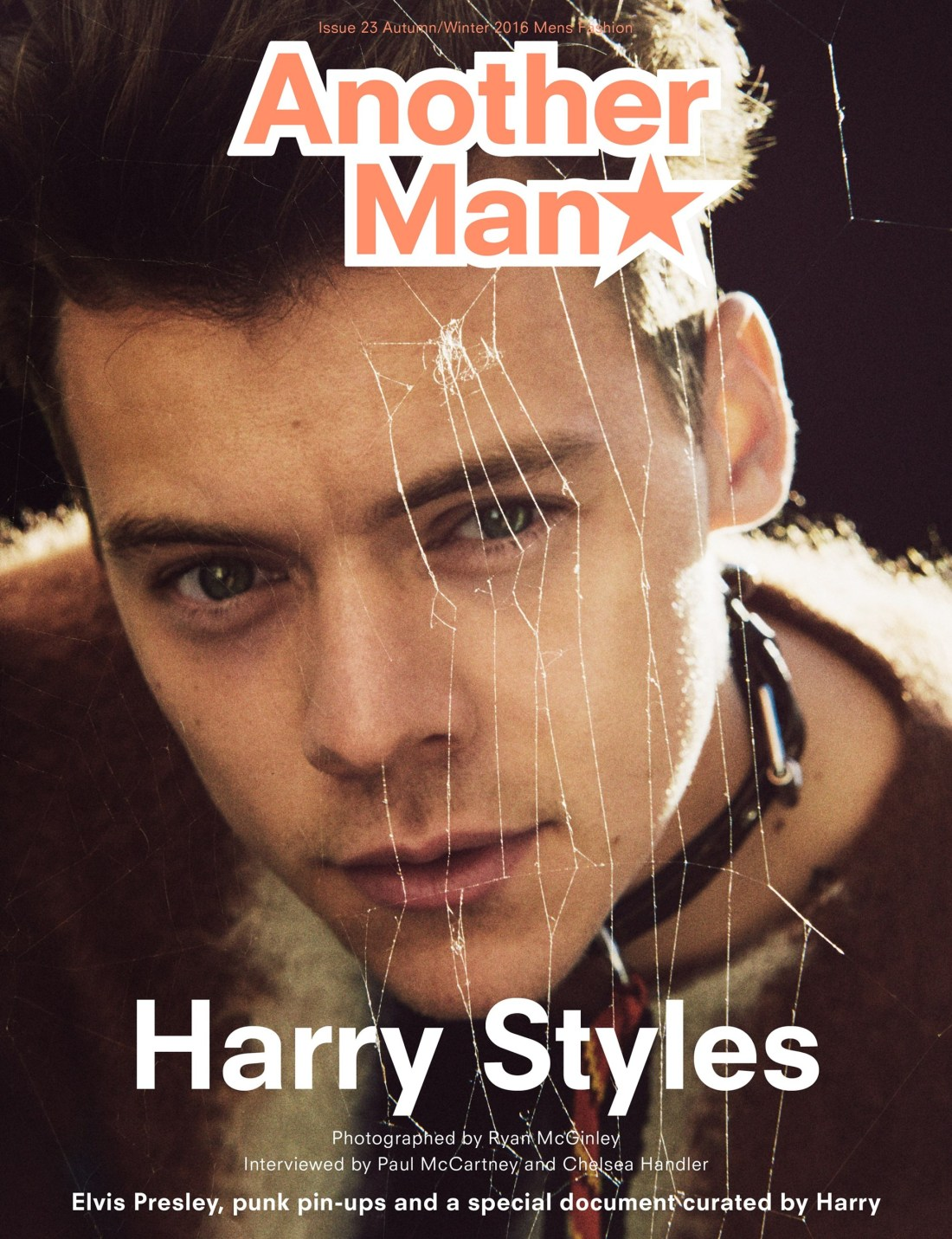 Harry Styles on the Cover of AnOther Man Magazine