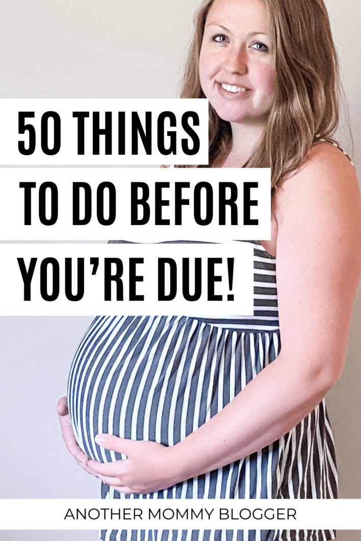 This is every task you need to do when you're pregnant. #pregnancy