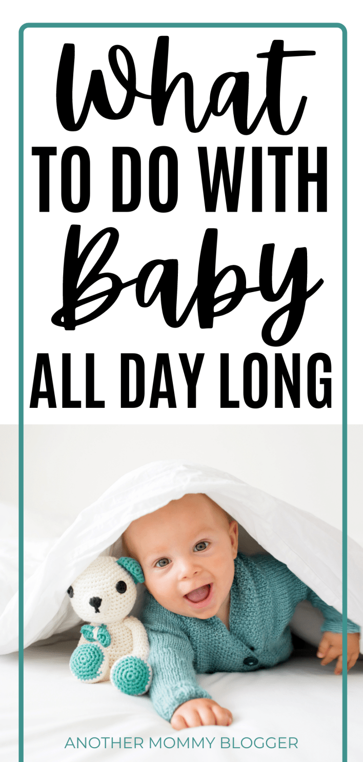 Don't know what to do with a baby. Here are some baby play ideas and other baby tips for new moms. #babytips
