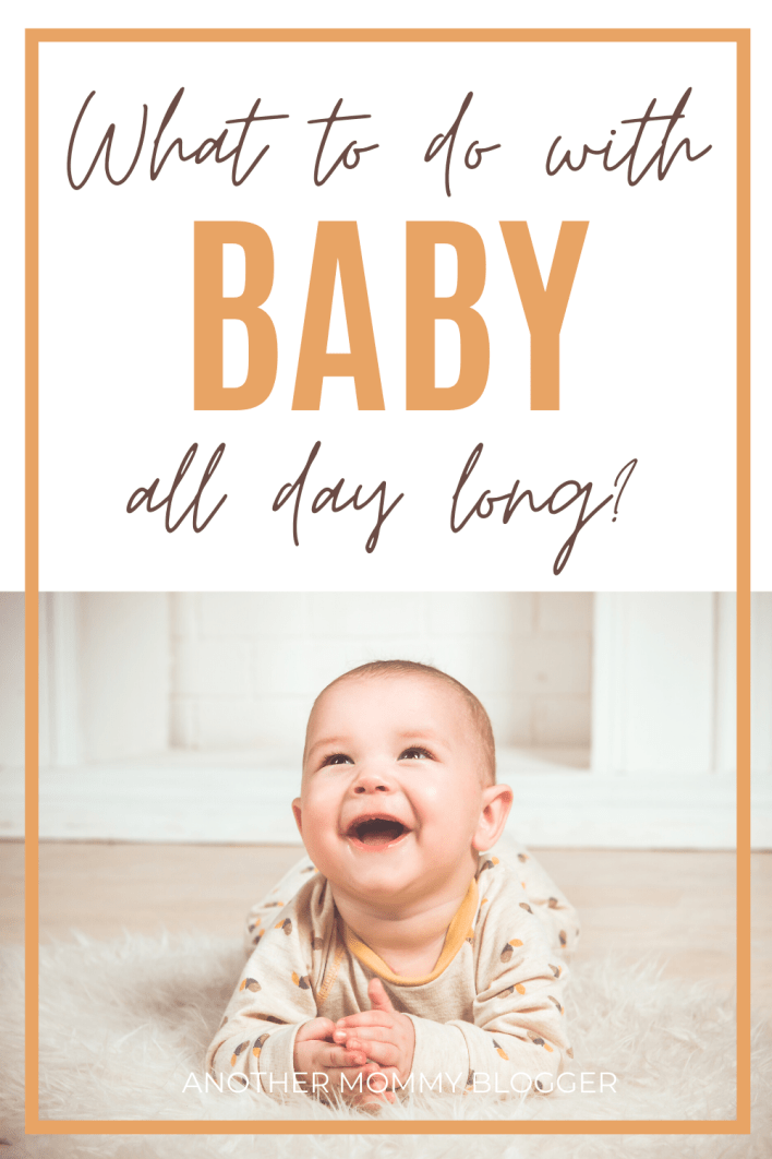Use these baby activity ideas and other baby tips to figure out what to do with baby all day long. #babytips