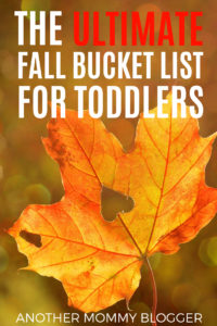 The Ultimate Fall Bucket List For Toddlers